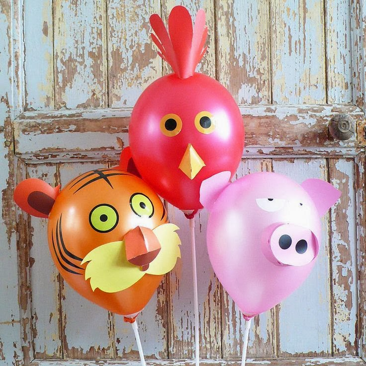 20 ideas and activities to plan and decorate for a balloon for Balloon decoration for kids party