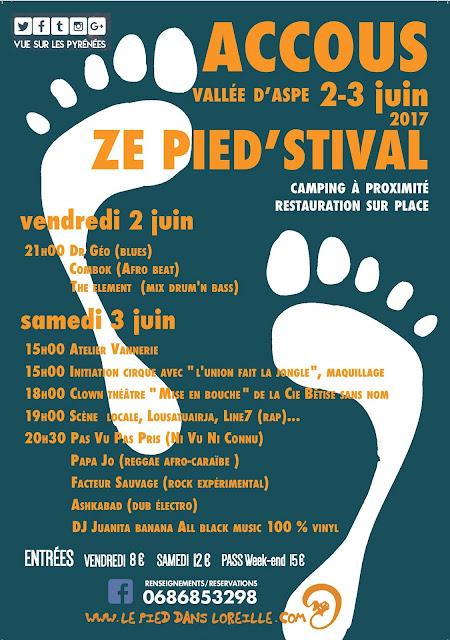 Festival du Pied dans l'Oreille 2017