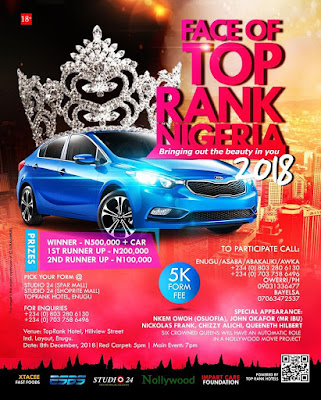 Face of Top Rank Hotel, Nigeria