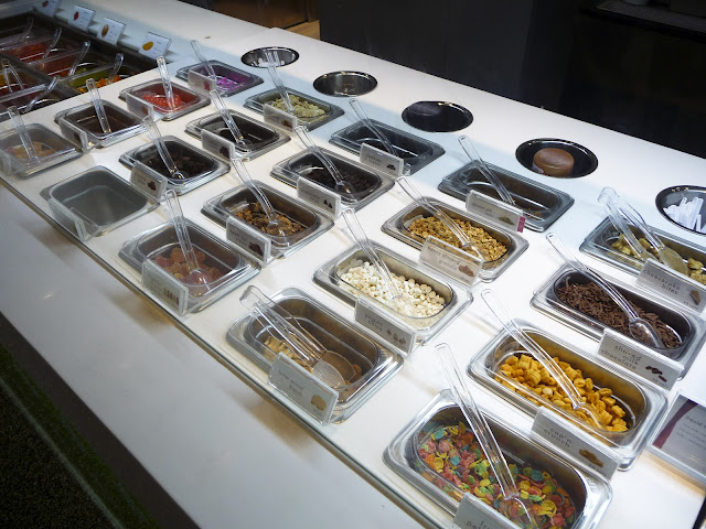 Pinkberry dry toppings