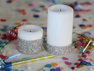 Reciclatex Como Decorar Unas Velas Con Purpurina - Como-decorar-una-vela