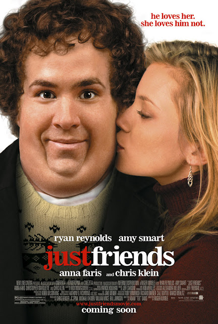 Just Friends 2005 comedy movie poster Ryan Reynolds Anna Faris Amy Smart Chris Kline