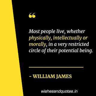 motivational quotes for success william james