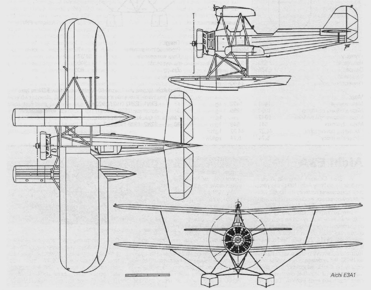 Japanese Aircraft Of Wwii Aichi E3a1 Navy Type 90 1