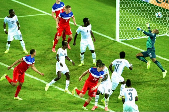 [VIDEO]  Ghana - Amerika Serikat (Piala Dunia 2014 Grup G)