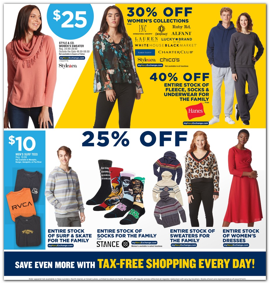 Navy Exchange Black Friday 2019 page 49
