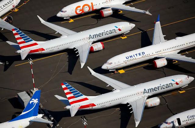 Um ano após paralisação do Boeing 737 Max, avião segue sem previsão de voar