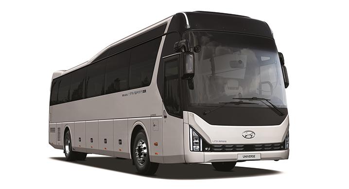 현대자동차, 유니버스 내·외장 디자인 변경, 12.5m 모델 추가해 3월 출시 예고