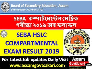 SEBA HSLC Compartmental Result 2019