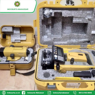 Kalibrasi Automatic Level / Waterpass Topcon Sokkia Nikon di Makassar