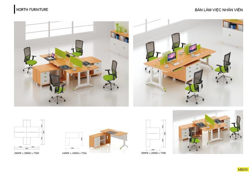 Thiết kế nội thất phòng làm việc trẻ trung năng động