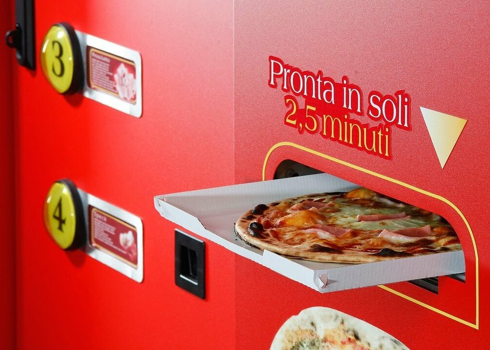 Pizza machines  own business ideas