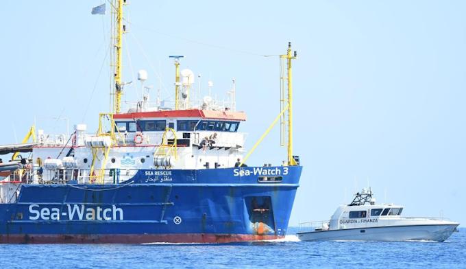 Sequestrata la nave Ong Sea Watch 3