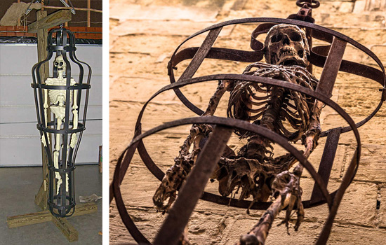 Torturas Medievais - Gaiola da Tortura