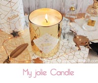Avis My Jolie candle Gold Edition