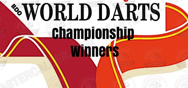 BDO World Darts Championship, past Champions-Winners, prize money, , by Year, List.
