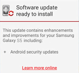 Verizon Galaxy S5 Updates to G900VVRS2DPL1, December Android