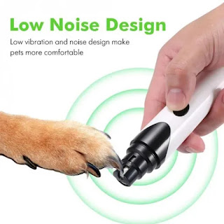 Grooming Nail Grinder for Dogs Cats