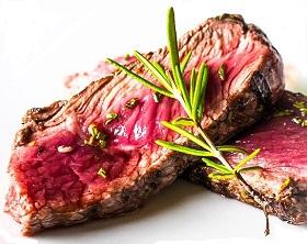 شرائح اللحم البقري