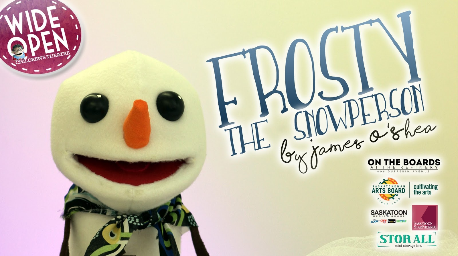 Wide Open Presents Frosty the Snow Person