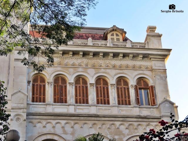 Vista de parte da fachada do Colégio Nossa Senhora de Sion - Higienópolis - São Paulo