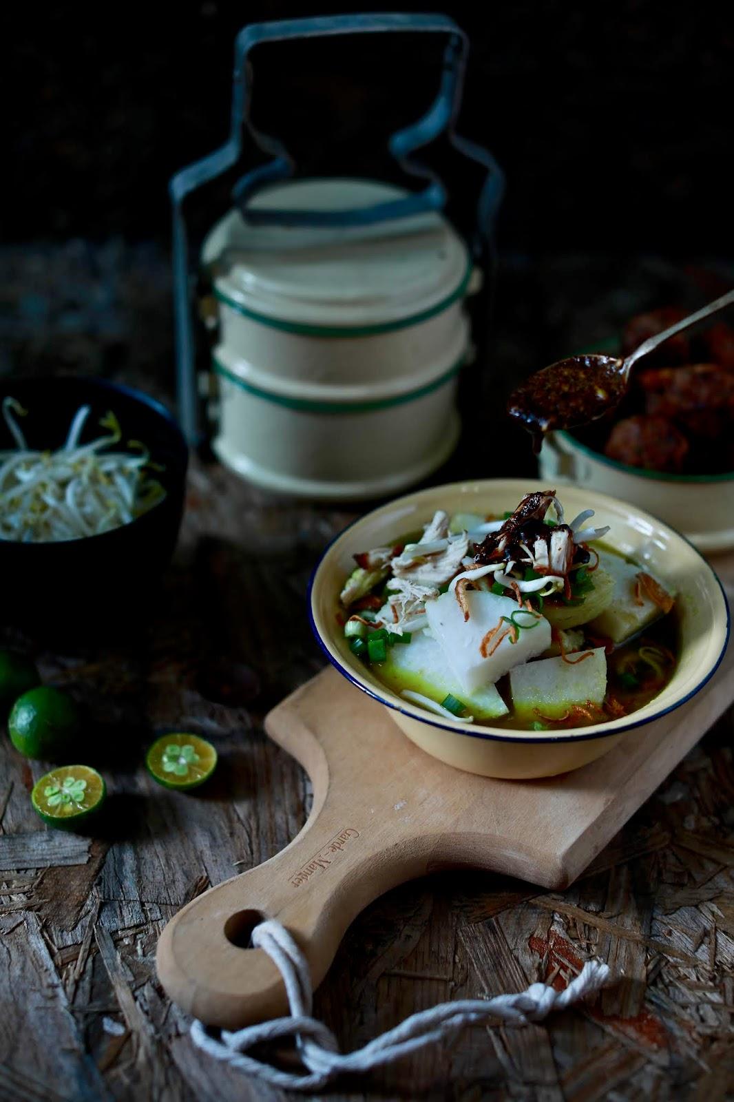 resipi soto ayam mudah resepi bergambar Resepi Sup Ayam Sedap Azie Kitchen Enak dan Mudah