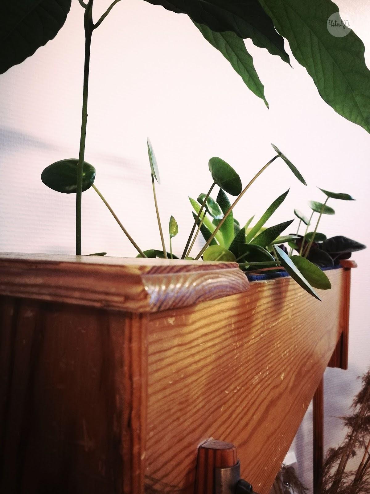 blombord, flower stand, side table, diy