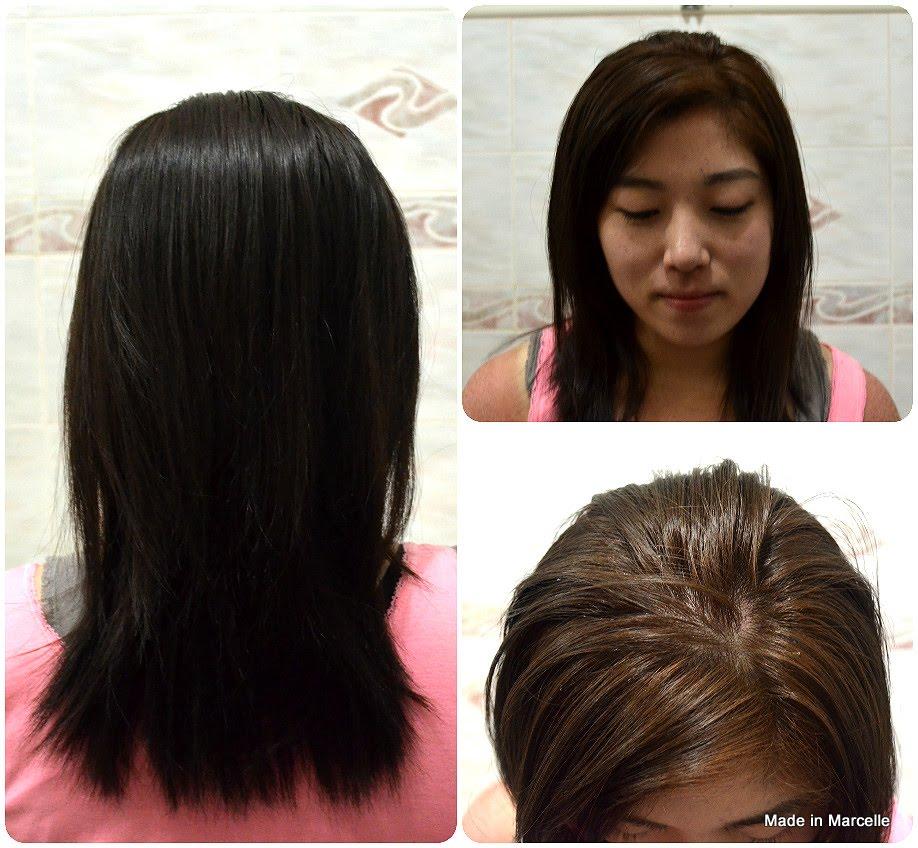 Korean Bubble Hair Dye Natural