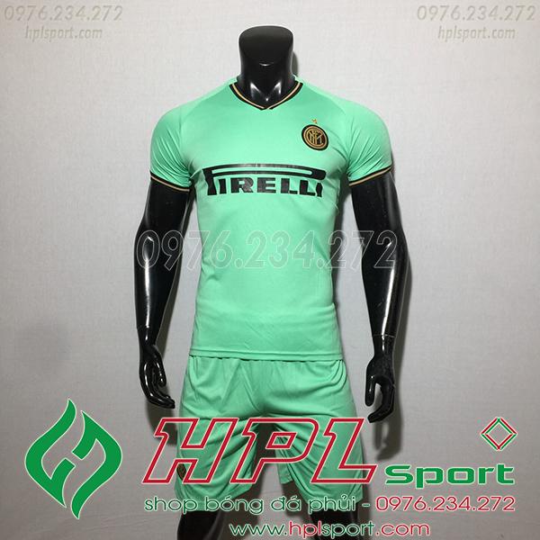 Áo câu lạc bộ Inter Milan màu xanh ngọc 2020