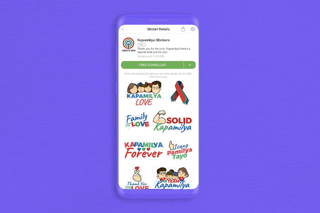 ABS-CBN Viber stickers
