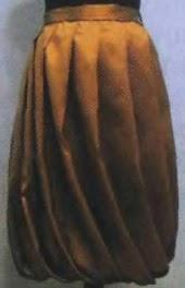 Выкройка юбки-баллон