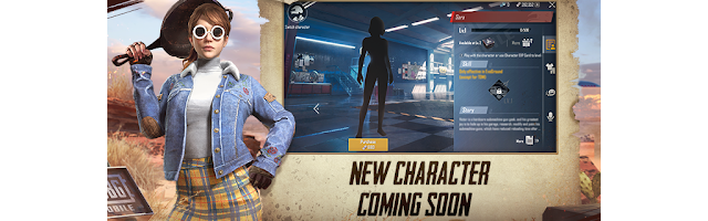 PUBG Mobile new character