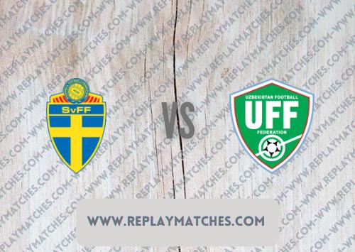 Sweden vs Uzbekistan -Highlights 05 September 2021