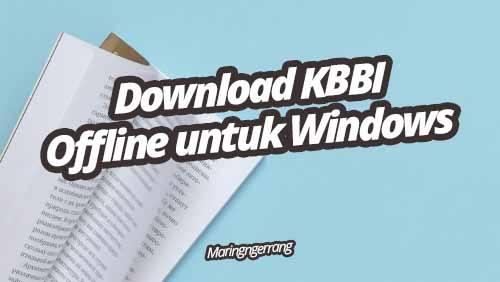 Download KBBI Offline Gratis untuk PC