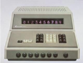 Modelo 001  da Casio