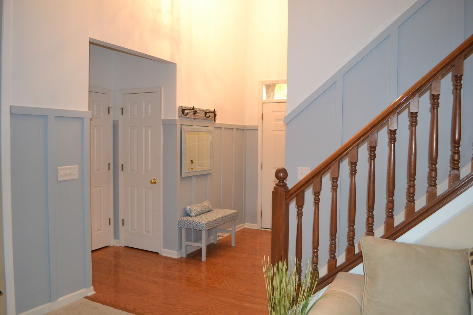 Tda Decorating And Design Stairwell Board Amp Batten Tutorial