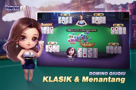 Game Domino QiuQiu:Domino99 Simulasi Sebelum Bermain Judi