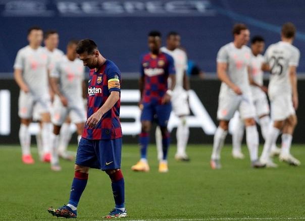 Ligue des Champions: Le Bayern fait exploser le FC Barcelone de Lionel Messi