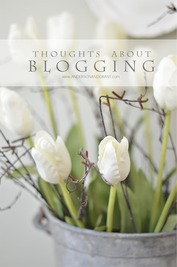Thoughts about the current state of blogging | www.andersonandgrant.com