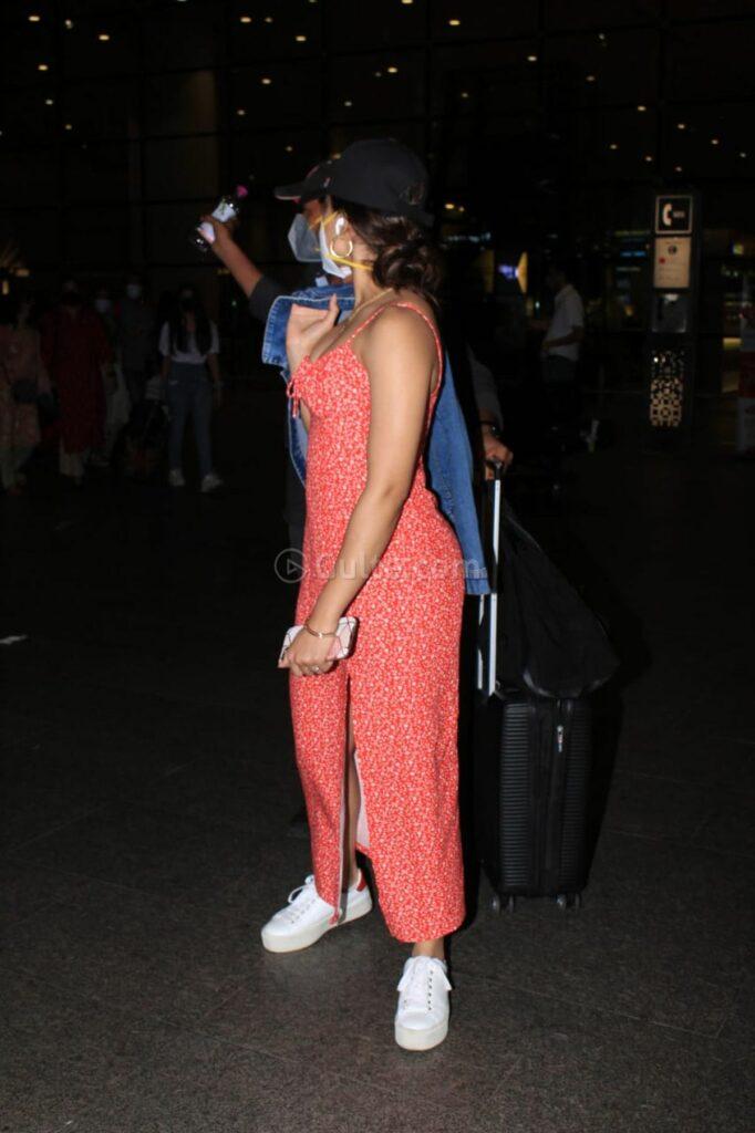 Pics: Rashmika Mandanna Oozes Charm in A Chic High-Slit Maxi