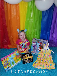 Rainbow Dash Birthday Party