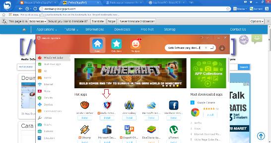 Free Download Baidu Browser dan APP Store Dekstop - Android