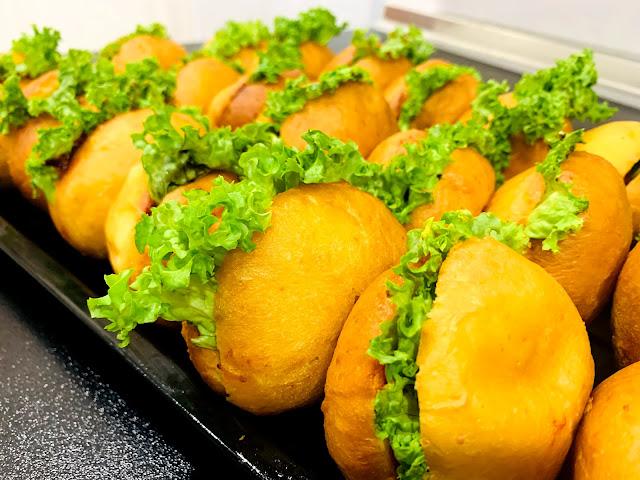 gambar burger malaysia yang canitk dan sedap