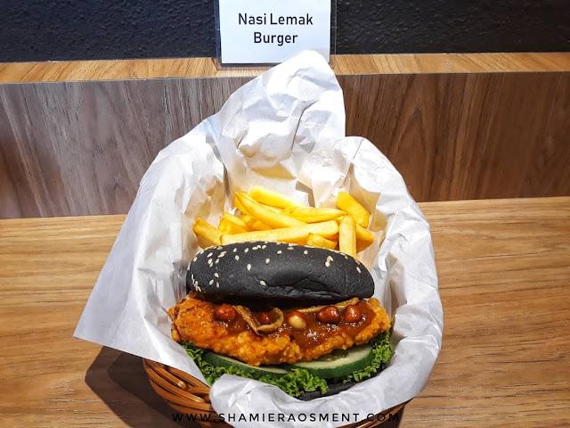 Burgerlari Cheras, malaysian flavor burger, Burgerlari : Halal, Premium Malaysian Taste Burger, nasi lemak burger, satay burger, chicken chop burger,