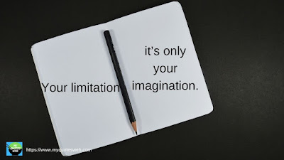 Best Inspirational Quotes - Your limitation