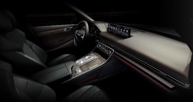 Genesis GV80: SUV de luxo da Hyundai tem fotos reveladas