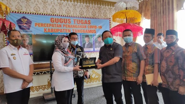 Anggota DPRD Provinsi Lampung Kunjungi Kantor Bupati Tanggamus