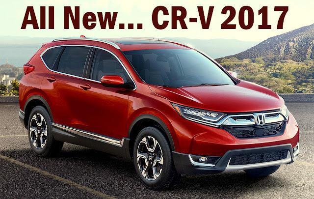 SUV Honda CR-V Baru 2017 (Generasi ke-5)