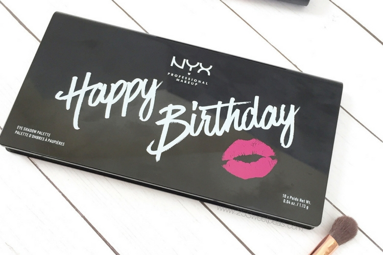 NYX Birthday Eyeshadow Palette