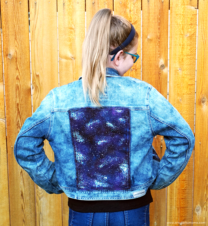 DIY Galaxy Jacket